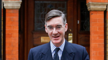 Jacob Rees-Mogg travelled to Scotland to speak to the Queen.