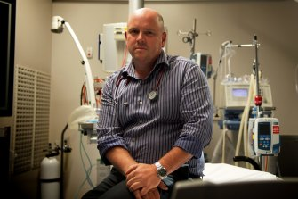 Dr Simon Judkins says many hospital workers are tired or on leave after a demanding year.