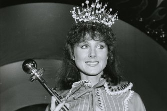 Simone Semmens was 23 when she was crowned Miss Victorian Grocery Industry for 1985.