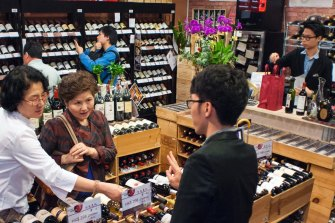 Wine exports to Hong Kong have more than doubled over the past year.