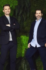 Allbirds co-founders Tim Brown and Joey Zwillinger.