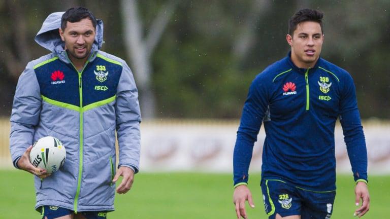 Jordan Rapana and Joe Tapine have been named in the Kiwis squad.