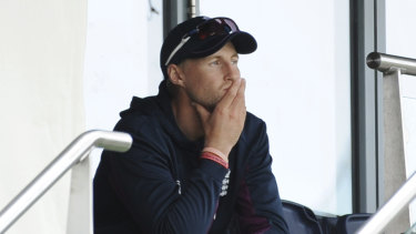 England captain Joe Root could only watch as Australia bowled their way to victory.