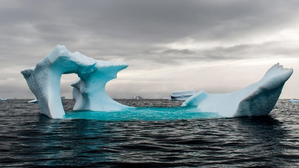 'Attacked from two sides': Antarctic sea ice hits another record low