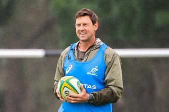 Scott Wisemantel runs an eye over Wallabies training in the Hunter Valley this week.