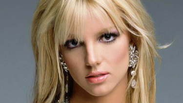 Scent of success: Britney Spears.