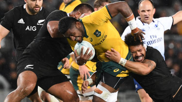 Contingency: Australia could yet be asked to host the Rugby Championship this year.