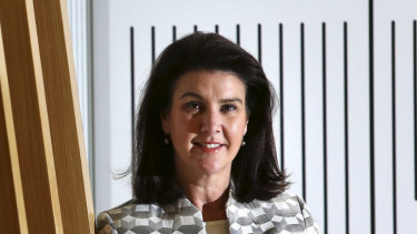Financial Services Minister Jane Hume.