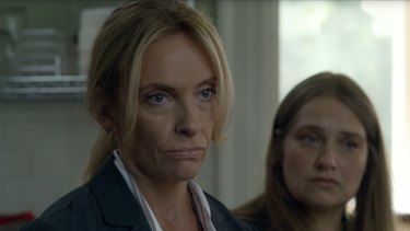 Toni Collette won for her role in the Netflix true-crime series Unbelievable.