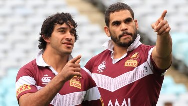 Johnathan Thurston says he's stunned by the suspicion around Greg Inglis' retirement from rugby league.