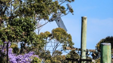Steve Trikoulis captured the moment the plane crash landed near Cromer.
