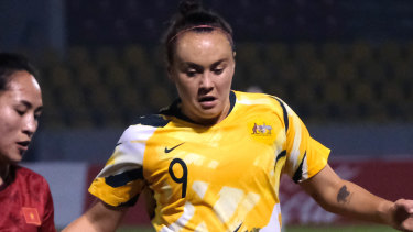 Matildas star Caitlin Foord will be quarantined for 14 days upon her return to England, coach Ante Milicic says.