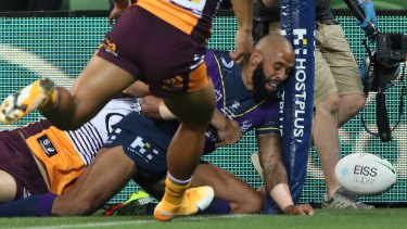 Josh Addo-Carr's first-half effort was ruled out.