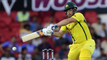 Captain Aaron Finch will lead an Australian line-up that has opponents nervous.