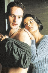 Andrew Lincoln as Egg and Amita Dhiri as Milly.