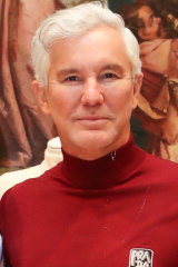 Baz Luhrmann at the National Gallery of Victoria in January.