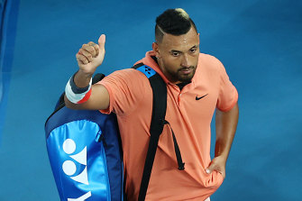Shoulder trouble will see Nick Kyrgios miss the event in New York.