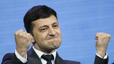 Ukrainian president Volodymyr Zelenskiy.