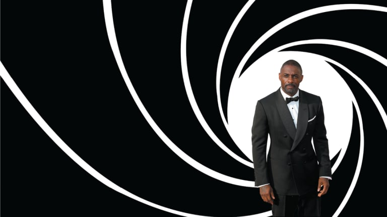 Will the real James Bond please stand up? … Idris Elba joined in the hype linking him to the role of 007.