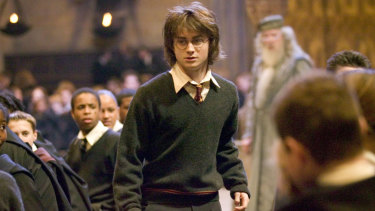 Radcliffe in 2005's Harry Potter and the Goblet of Fire.