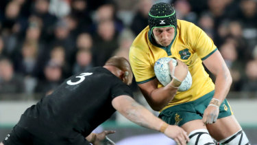 Team role: Adam Coleman could be consigned to playing off the bench at the World Cup.