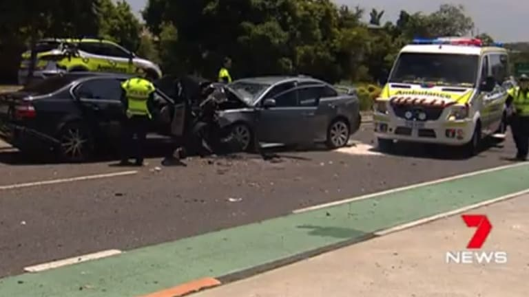 Karin and Makayla Tritton died in a horror head-on smash at Manly West on Christmas Day.