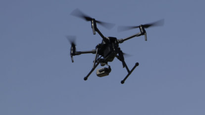 Drone drops package over Queensland prison wall on Christmas Day
