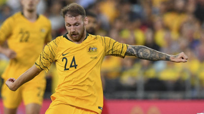 Good news for Arnie as Socceroo Boyle nears return from injury