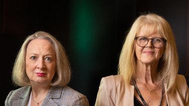 Judge Meryl Sexton and Judge Liz Gaynor.