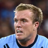 Pain in the butt: Jake Trbojevic racing clock to be fit for Origin III