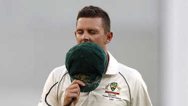 Josh Hazlewood is not a fan of four-day Tests.