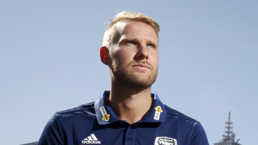 Victory's Ola Toivonen could make a return this Saturday night in the Melbourne derby.