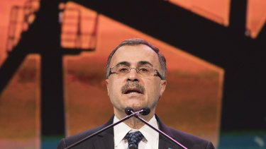 Saudi Aramco chief Amin Nasser.