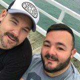 Steven Somers and James Price who have lost $11,500 worth of flights due to the collapse of Fly365.