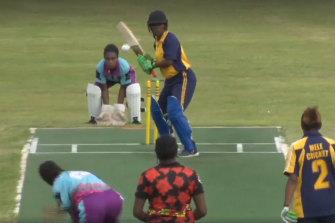 The women's Twenty20 final was live streamed on Vanuatu Cricket's Facebook page.