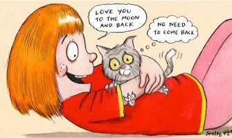 Cartoon by John Shakespeare