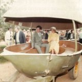 Prince Charles and Princess Diana visited the Big Pineapple during their 1983 Australian tour.