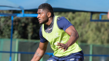 Isi Naisarani will line-up at No.8 for the Wallabies against South Africa.