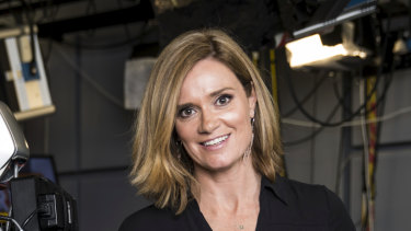 Julia Baird will be back in the ABC studios next week.