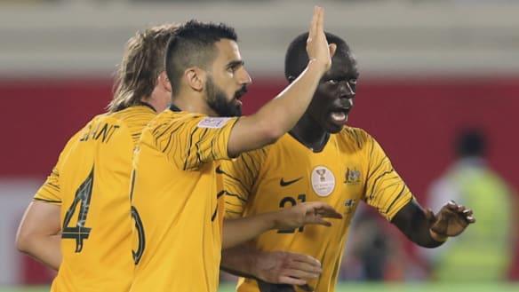 Rogic rocket rescues Socceroos in 3-2 thriller against Syria
