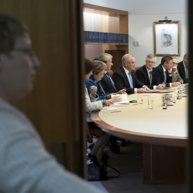 Prime Minister Scott Morrison meets senior public servants in Canberra after his election win, warning them he expects the bureaucracy to  deliver.