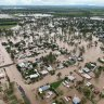 Warnings for upper Brisbane River basin as regional towns flood