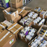 Operation Lightfingers saw nearly $200,000 worth of baby formula and other products seized.