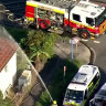 Woman dead, teens pulled from house fire in Sydney's south-west