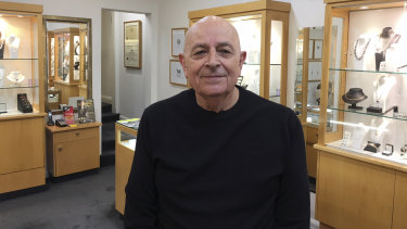 President of Toorak Village Traders Association Tony Fialides is one of the retailers claiming landlords have too much power.