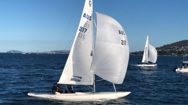 Wave of success: The Sayonara Cup has reinvigorated match racing on the water.