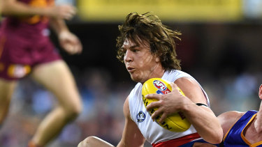 Western Bulldog Liam Picken was forced to retired on Monday due to concussion.