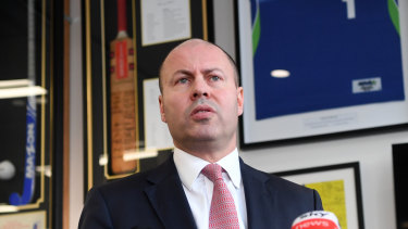 Josh Frydenberg says lockdowns in greater Sydney and now Victoria will act as a handbrake on economic recovery.