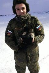 Russian dissident Ruslan Shaveddinov.