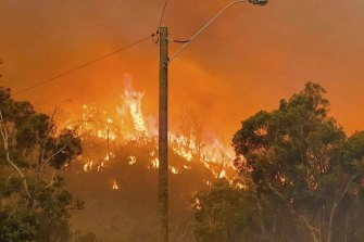 The City of Swan mayor fears between 20 to 30 homes have been lost.